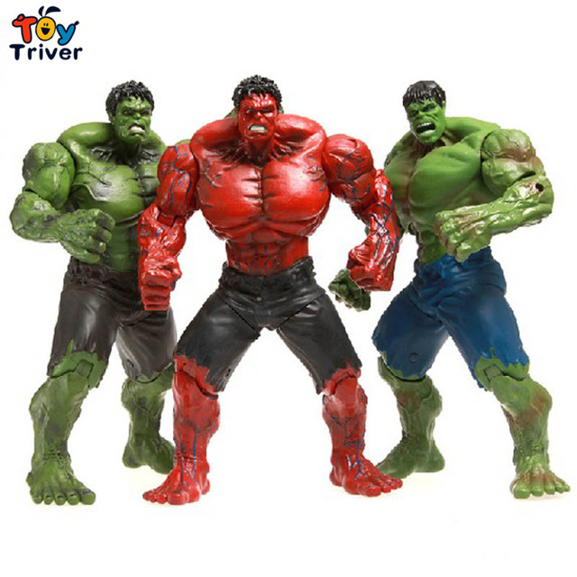 """Red Hulk 10"""" Action Figure The Avengers PVC Figure Toy ..."""
