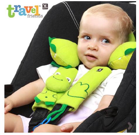 Safety belt protective sleeve baby car seat stroller safety belt shoulder sleeve anti friction pad for