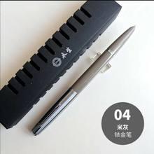 Ручка-перьевая Piston, модель 2020, вакуумная Ручка-перьевая ручка с серебряной крышкой, канцелярские товары, подарок 601(Китай)