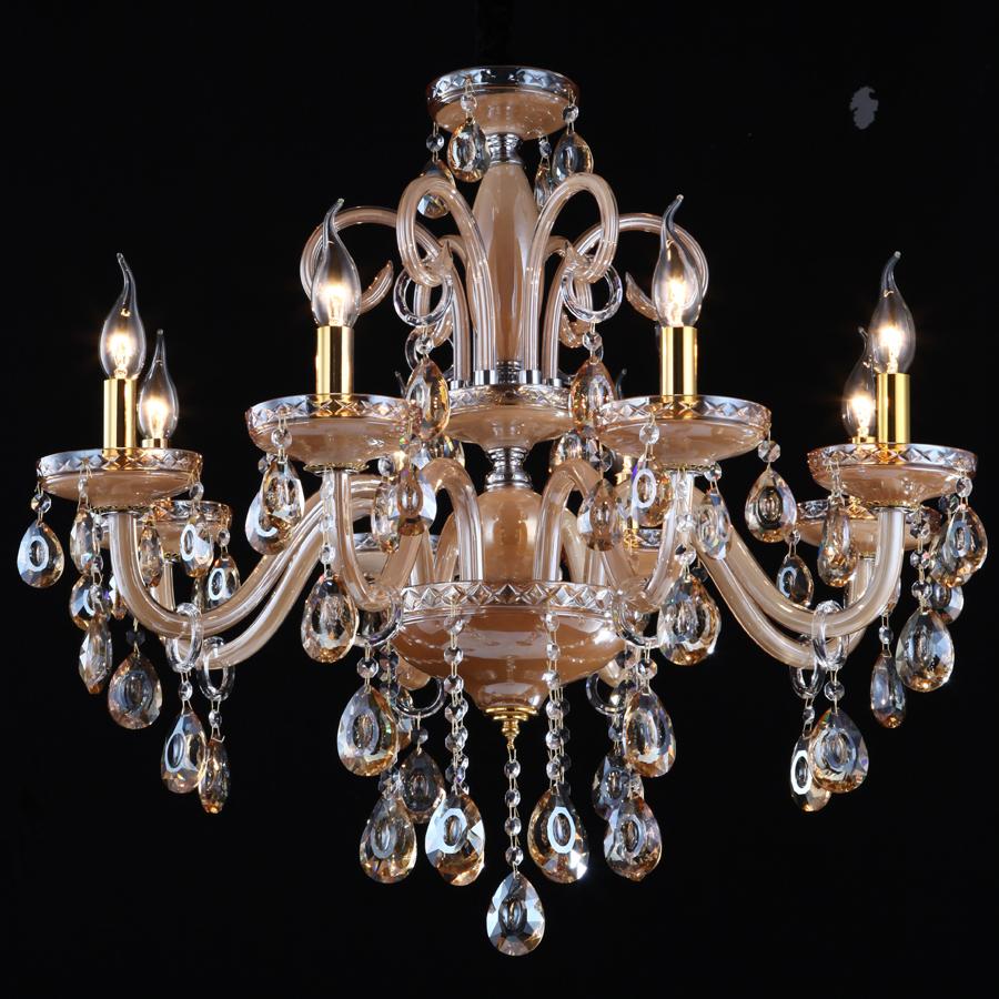 Euro Chandelier Lighting: Morning-imported-crystal-lamp-chandelier-penthouse-floor