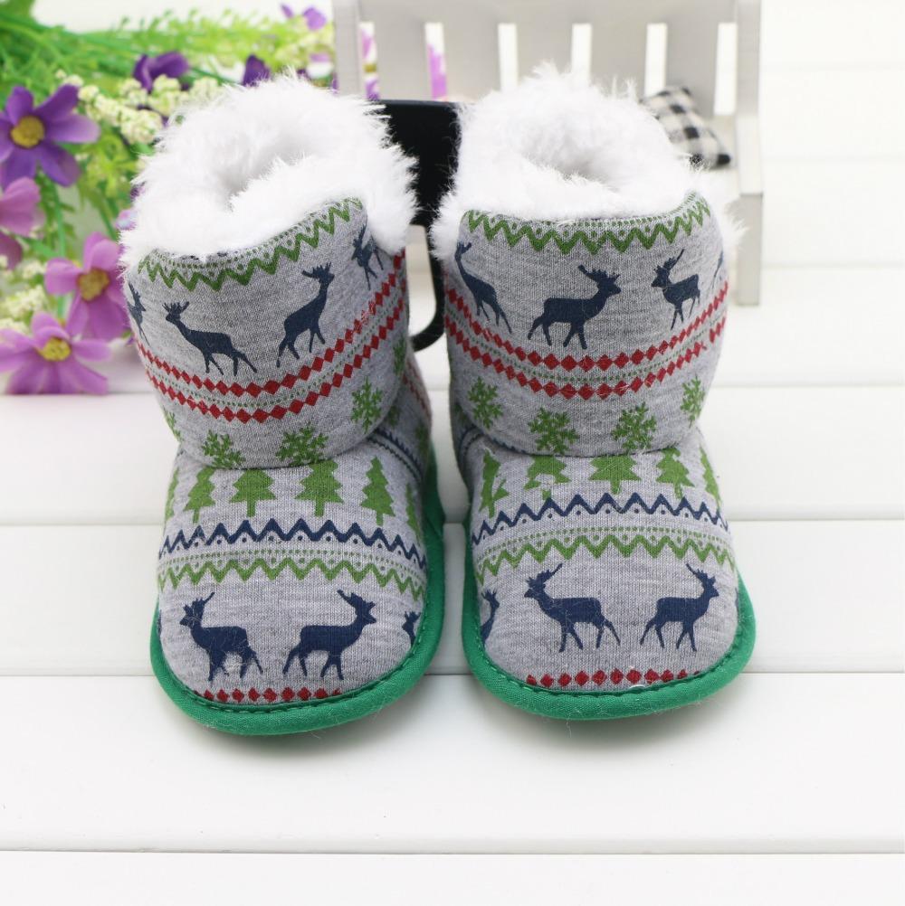 Newborn Baby Winter Boots Baby Shoes Girl Boy First Walker
