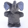 New Arrival Cute Cartoon Elephant Animal Baby Pretend Play Hand Puppets Plush Toys