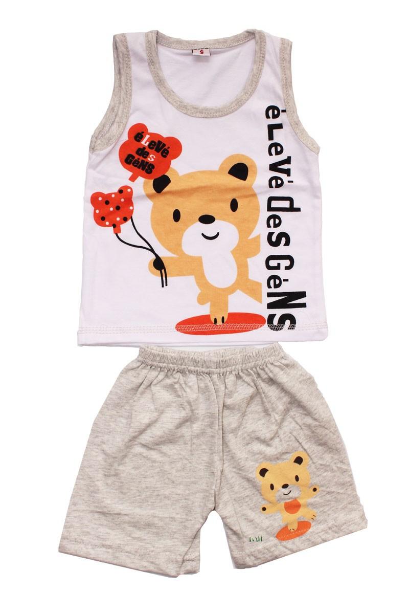 DMDM PORCO Do Bebê Set conjunto do miúdo das Crianças t-shirts para meninas meninos t shirt + calças undershirt Shorts vestuário definir a roupa das Crianças