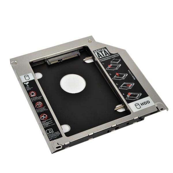 """9.5mm External HDD Caddy 2nd SATA to SATA 2.5"""" Hard Disk ..."""