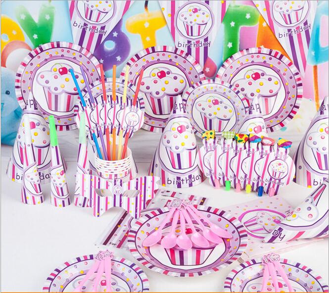 Luxury Decoration Supplies Set Birthday Cake theme Adult