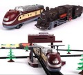 Free shipping 1 87 model railroading 9 4 Meters electric train Track electric toy trains for