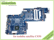 "H000052600 for toshiba satellite C850 laptop motherboard 15.6"" HM77 HD4000 Graphics DDR3"