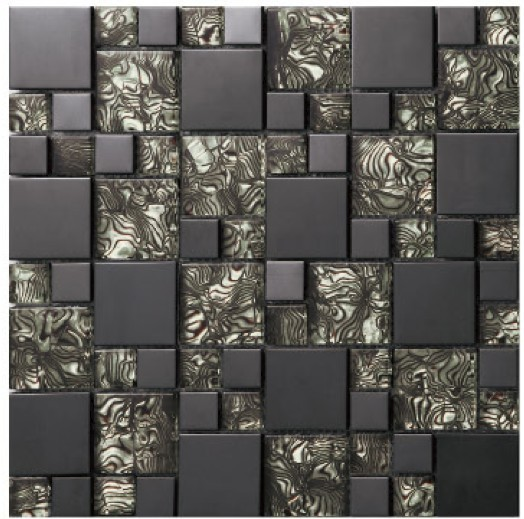 carrelage mosa que noir. Black Bedroom Furniture Sets. Home Design Ideas
