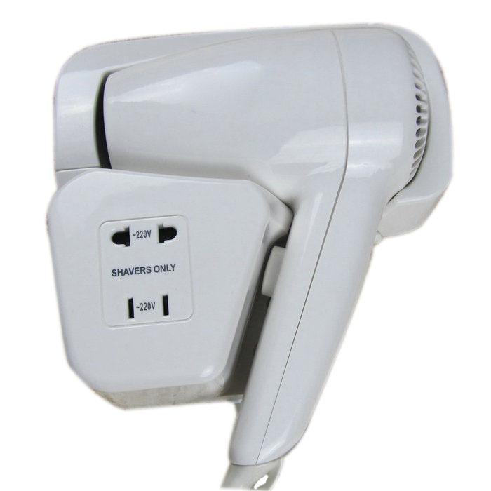 Bathroom wall mounted hair dryer small household wall
