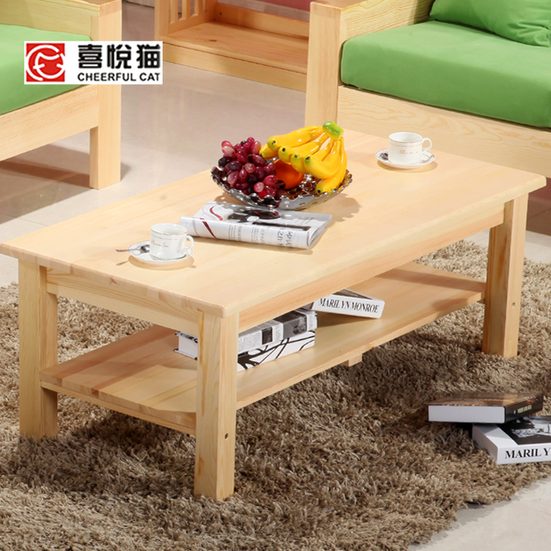 Solid Wood Furniture Tea Tables And Chairs Combination
