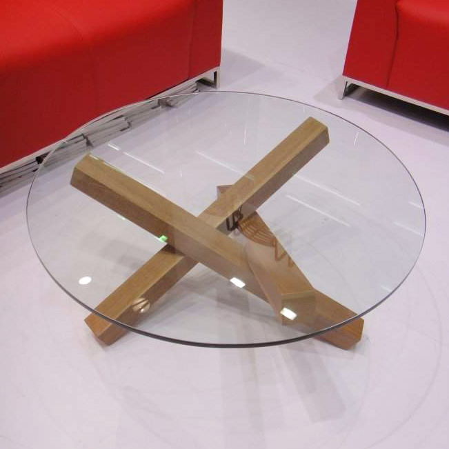 Wood Coffee Table: Round Wood Coffee Table Ikea