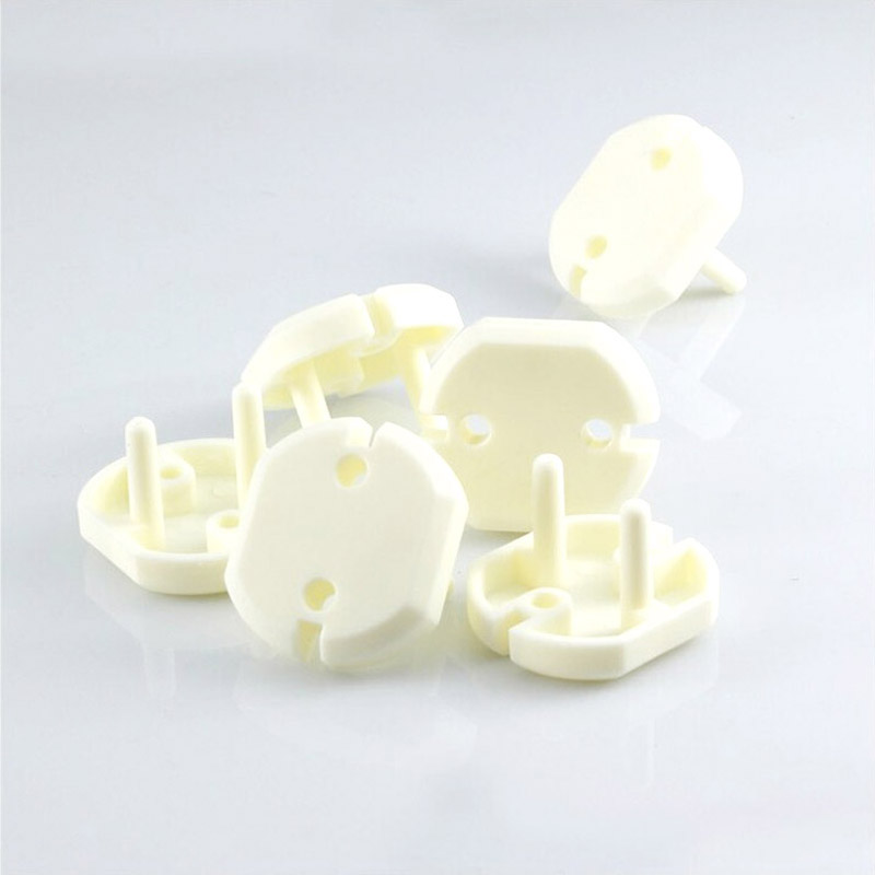 EU standard Children electrical safety protective socket cover cap two phase baby security product