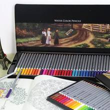 deli 24/36/48/72 colors pencil water color pencils painting pencil colorful pencil watercolor pen student supplies paint pencil