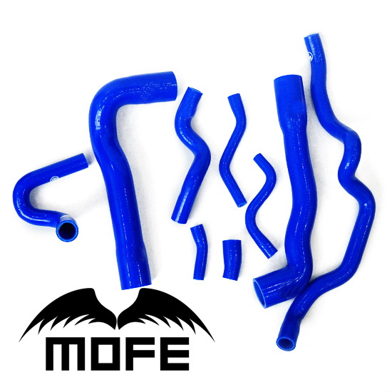 acheter mofe 9 pcs originale logo silicone liquide de refroidissement radiateur. Black Bedroom Furniture Sets. Home Design Ideas