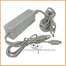 Free shipping Game accessories Charger adapter EU AC Adapter Power Supply Cord Cable For nintendo wii u GamePad