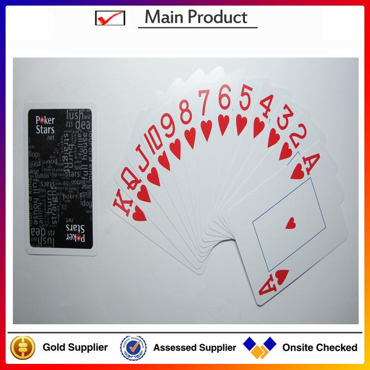 Druckpapier spielkarte, speziellem papier pokerkarte, Poker größe kartenspielGroßhandel, Hersteller, Herstellungs