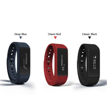 Wristband I5 Plus Smart Bracelet band IP67 Waterproof Watch 0.91″ OLED TPU Smartband Fitness Tracker Clock Anti-Lost Function