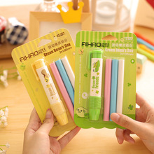 Replaceable Pen Shape rubber eraser for pencil font b kid b font funny cute stationery Novelty