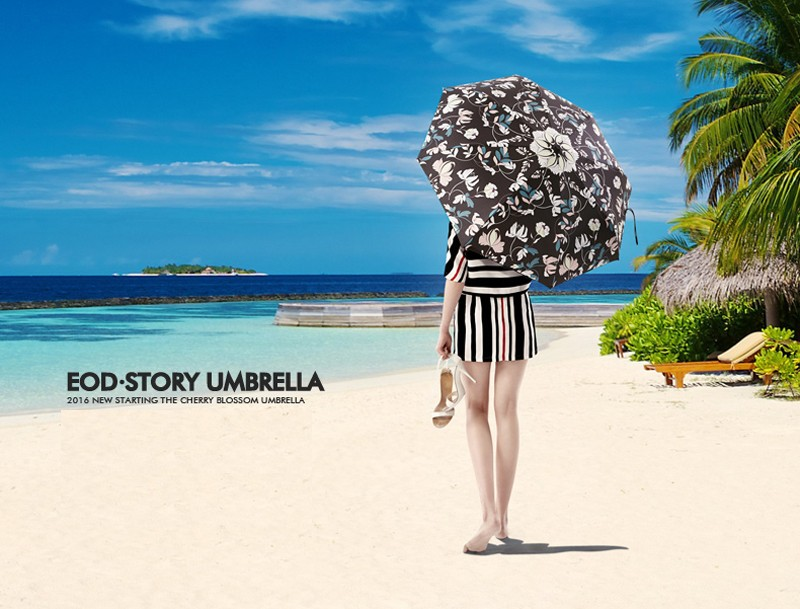 High Quality Black Coating Anti UV Sun Umbrella Sunny and Rainy Dual-use  Male Women Umbrella Fashion Brand Parasol - us386 2e0dc85516a2