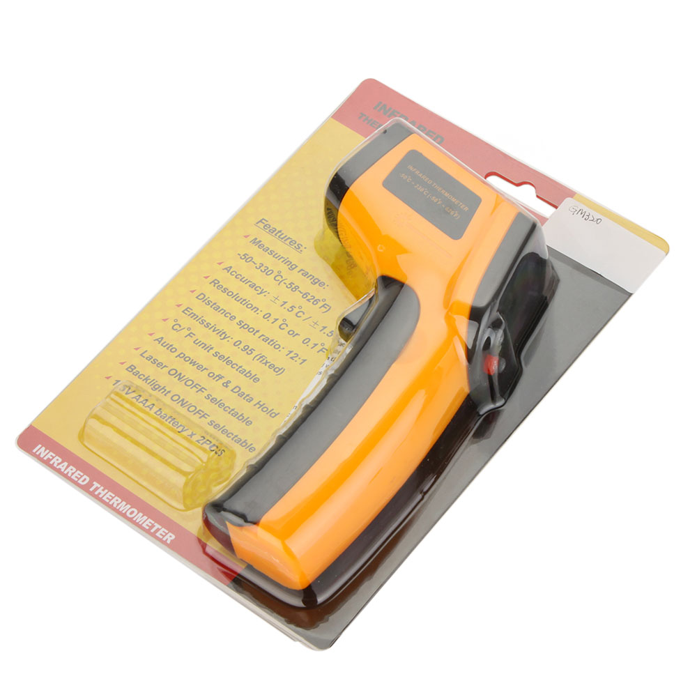 2019 Infrared Thermometer Gm320 Non Contact Laser Gun