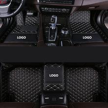 Автомобильные коврики для volvo v50 v40 c30 xc90 xc60 s80 s60 s40 v70 v60 xc40, аксессуары для ковров(Китай)