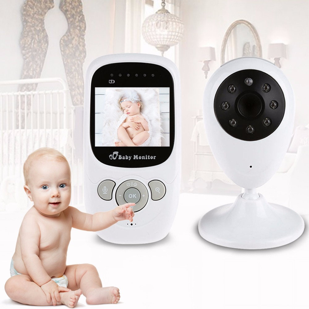 Video Surveillance 2.4 Inch 2.4g Digital Lcd Wireless Baby Monitor Night Vision Audio Video Security Camera 2 Way Babysitter Talk Radio Monitoring Baby Monitors