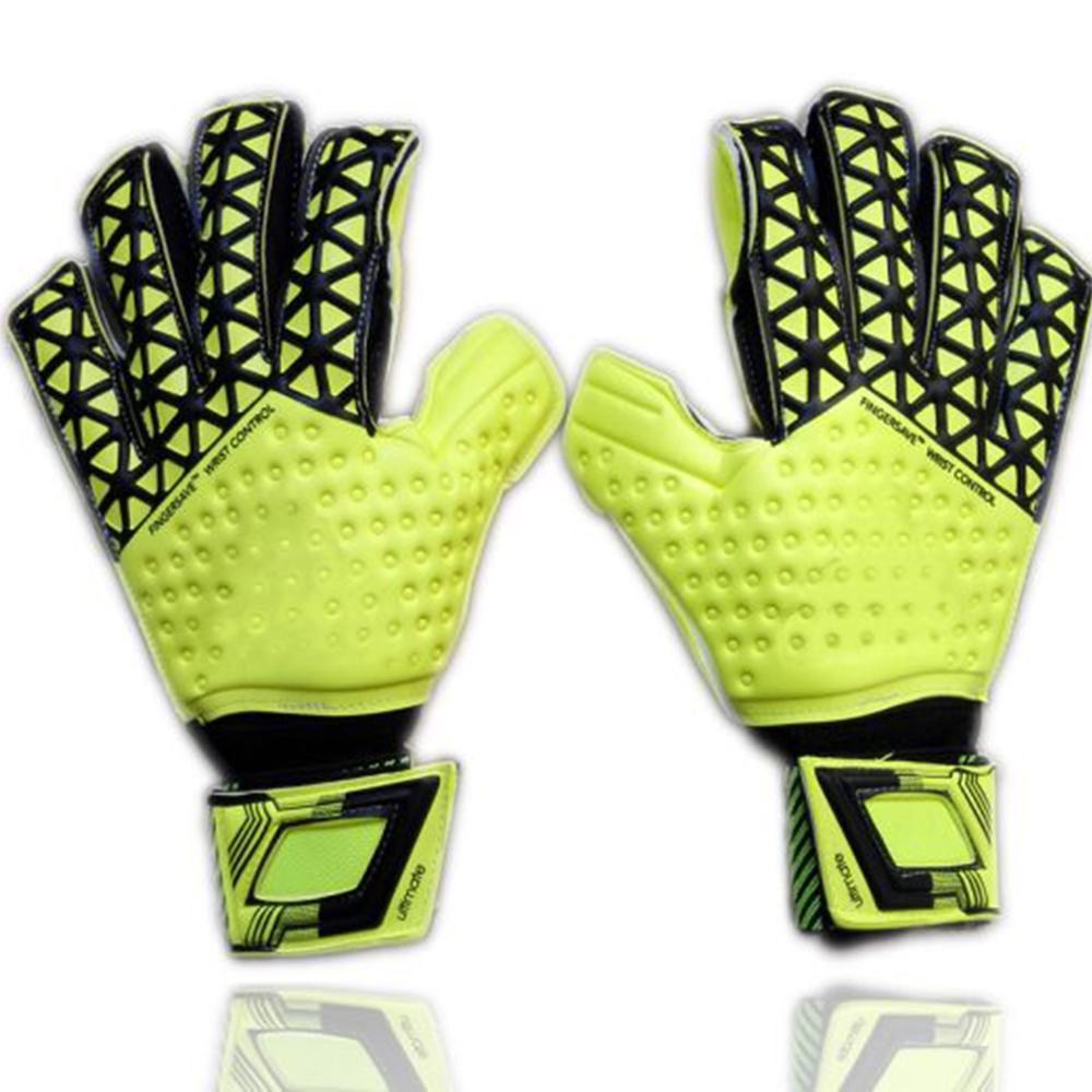 Compra guantes de portero con protección para los dedos