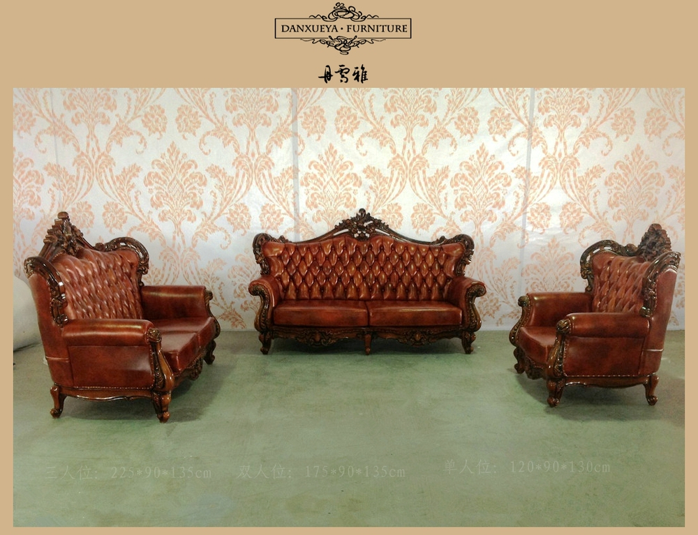 Middle East Style Living Room Furniture , Luxury Carving