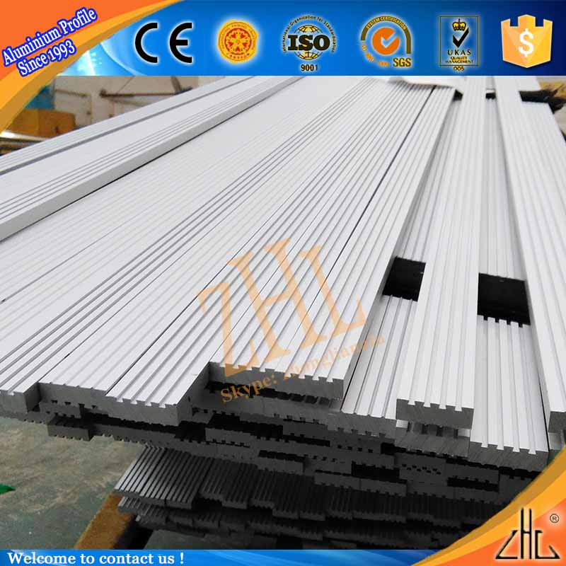 Hot Decorative Floor Aluminium Profile Factory Oem 100x20