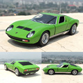 Brand New KT 1 34 Scale Italy Miura P400 Diecast Metal Pull Back Car Model Toy