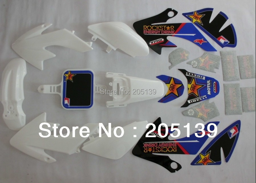 Racing Bike: Racing Bike Decals