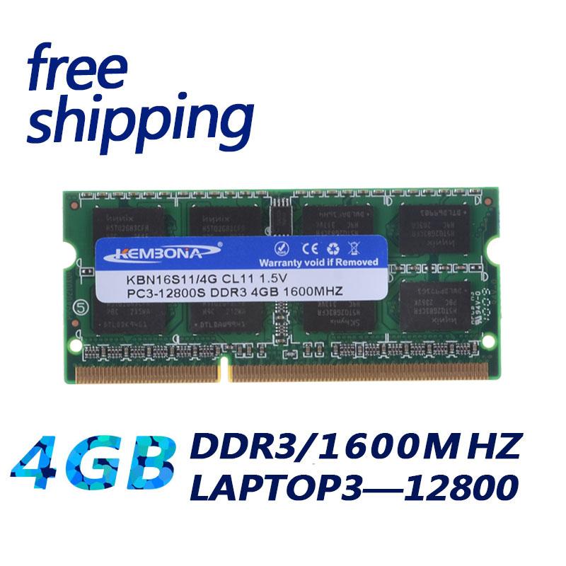 LAPTOP DDR3 4G 1600  1.5V  16 CHIPS