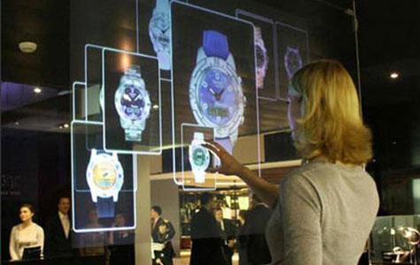 32 Interactive touch foil 2 points touch foil film