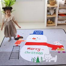Домашний декор 150*200 см, большой толстый нескользящий коврик в мультяшном стиле, детские коврики для комнаты, игровой коврик для ползания под...(Китай)