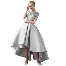 Асимметричное бальное платье, вечерние платья больших размеров 2020, роскошное торжественное платье для выпускного вечера, официальное вече...(Китай)