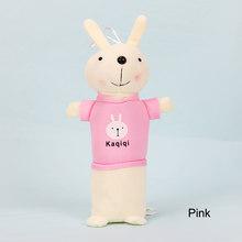 Креативный школьный чехол-карандаш с мультяшным Кроликом, милая плюшевая Сумка-карандаш, сумка для канцтоваров Kawaii, офисные и школьные прин...(Китай)