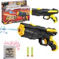2 in 1 Nerf air soft gun toy Airgun Paintball Gun Pistol Pistol Gun Soft Bullet
