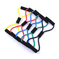 New Hot Sale Resistance Training Bands Rope Tube Workout Exercise for Yoga 8 Type Fashion Body