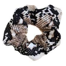 Женские резинки для волос, эластичные резинки для волос с леопардовым/змеевым принтом(Китай)