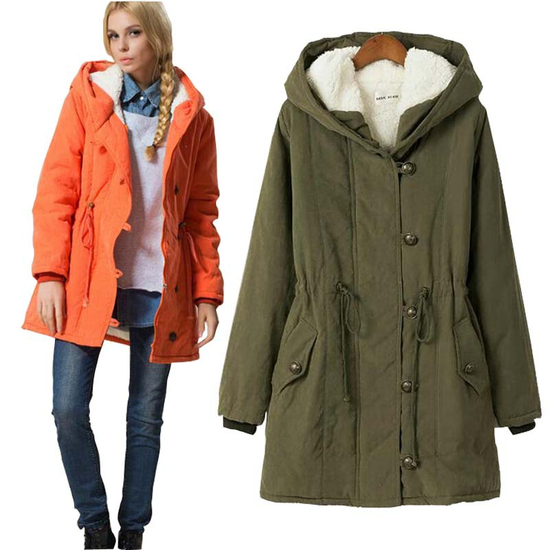 New 2015 Fashion Casual Parka Winter Jackets Women Coats