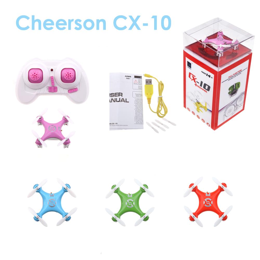 Cheerson Cx10 2 4g 4ch 6axis Rc Quadcopter Mini