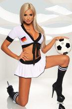 Костюмы черлидера, сексуальные футбольные костюмы для девочек, униформа Черлидинга, детская юбка для футбола, наряд для вечеринки, Клубная ...(Китай)