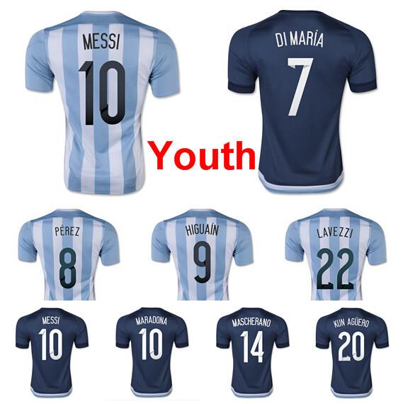 brand new bcd2a 38805 messi soccer jerseys youth   PT. Sadya Balawan