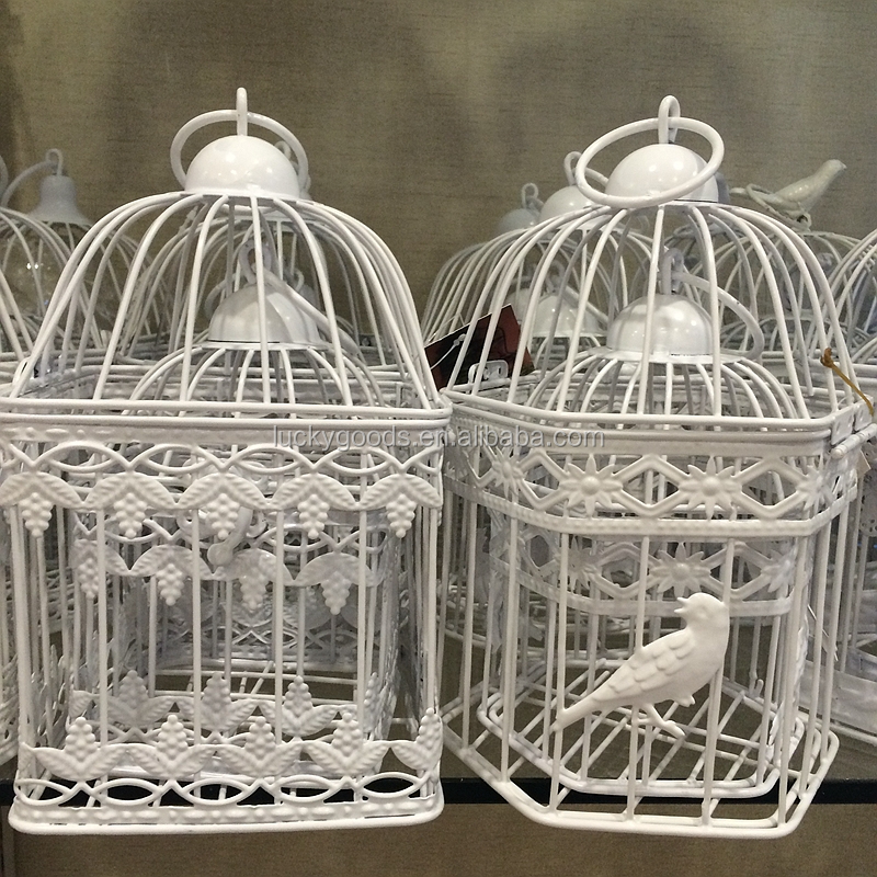 Small Decorative Wire Bird Cages