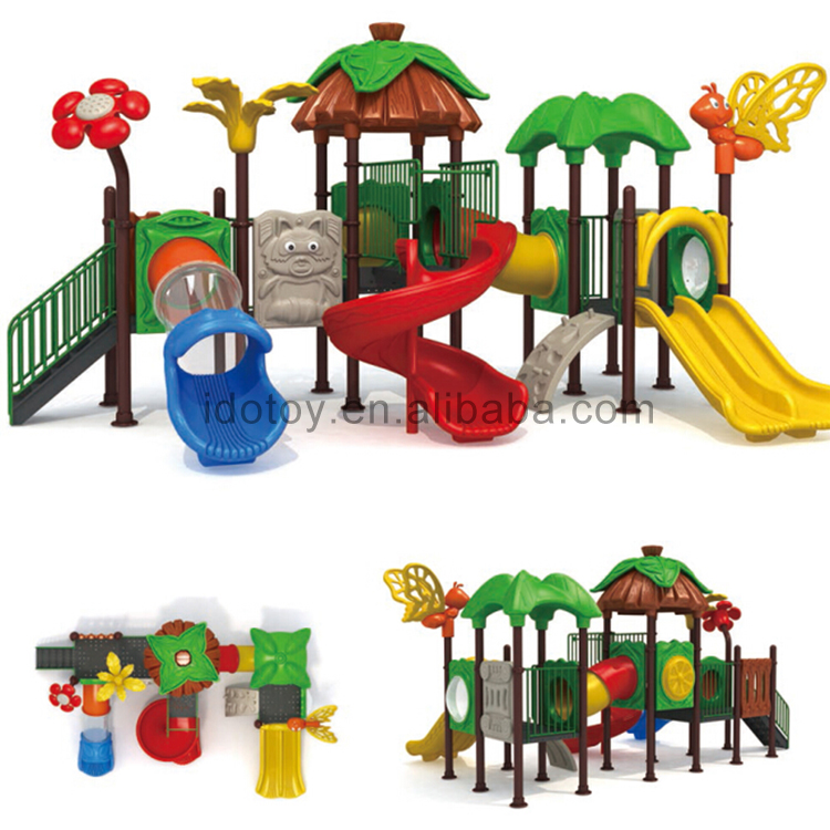 new arrival commercial plastic outdoor playground toys little children outside play set buy. Black Bedroom Furniture Sets. Home Design Ideas