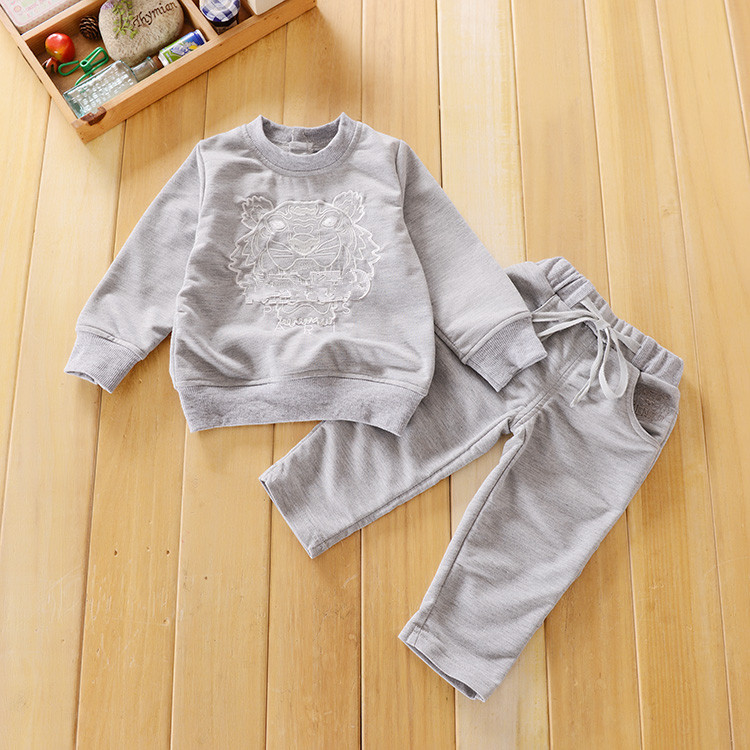 New 2016 Spring Toddler s Casual Clothing Set Children Boys Girls Sports Suit Kids Tracksuits