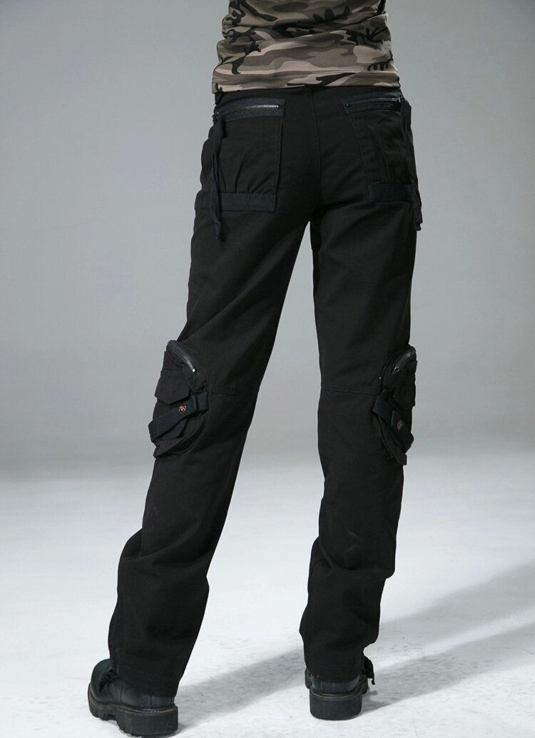 Detail Feedback Questions about Women Casual Cargo Pants Women s ... 16a7c8c541