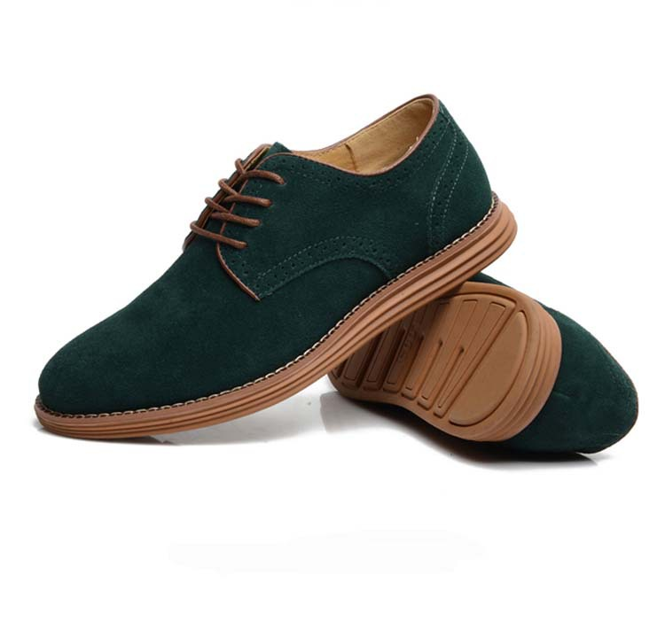 Free Shipping Men Suede Shoes Big Size Shoe European style