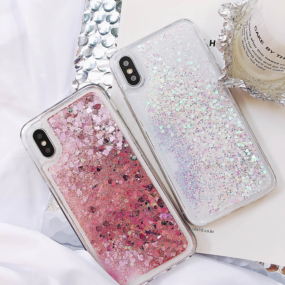 lowest discount available huge inventory Giltter Liquid Sand Case On For Xiaomi Redmi Note 5 5A Prime Soft Silicone  TPU Case For Coque Xiaomi Redmi 5 Plus 4X 5 Note 3 4A