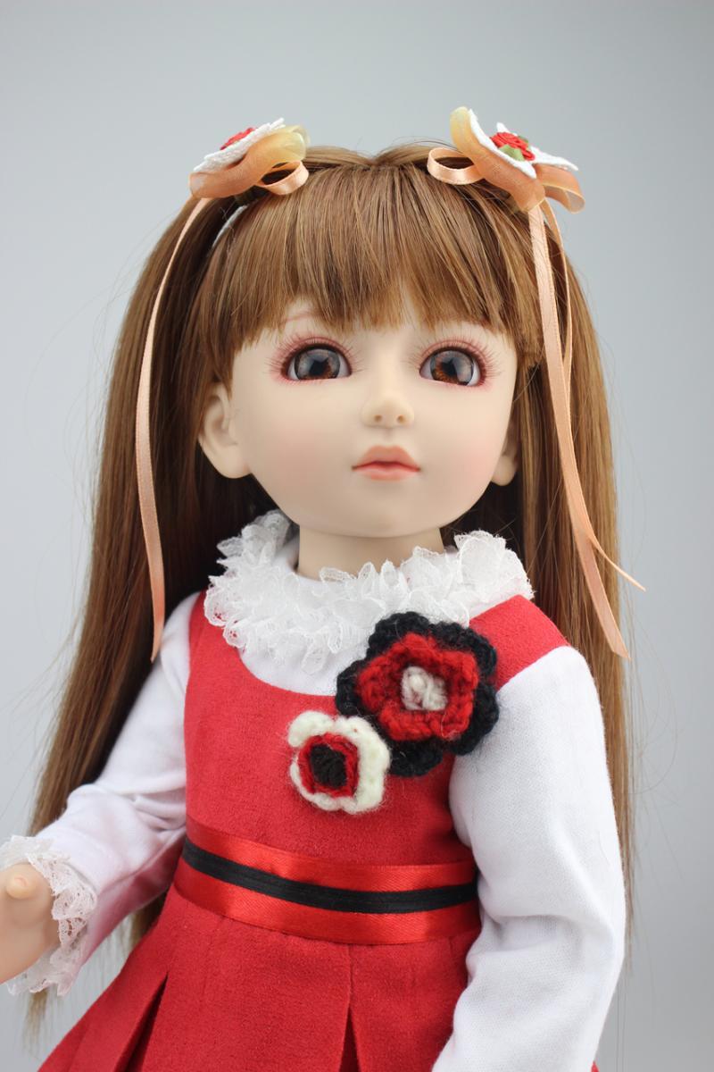 Free Shipping 2016 Fashion Beautiful Girls Princess Dolls